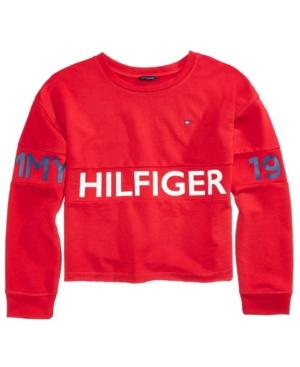 Tommy Hilfiger 1985 GraphicPrint Sweatshirt Big Girls (716)
