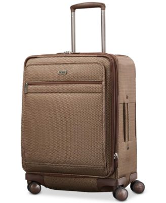 "Century 21"" Expandable Carry-On Spinner Suitcase"