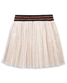 Kandy Kiss Sequin Skater Skirt, Big Girls