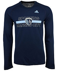 adidas Men's Sporting Kansas City 1949 Long Sleeve T-Shirt