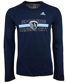 adidas Men's Sporting Kansas City 1949 Long Sleeve T-Shirt