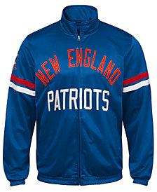 G-III Sports Men's New England Patriots Veteran Track Jacket