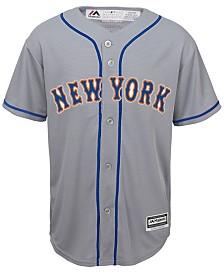 Majestic New York Mets Blank Replica Jersey, Big Boys (8-20)