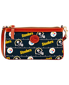 Dooney & Bourke Pittsburgh Steelers Nylon Wristlet