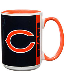 Chicago Bears 15oz Super Fan Inner Color Mug