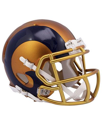 Riddell Los Angeles Rams Speed Blaze Alternate Mini Helmet