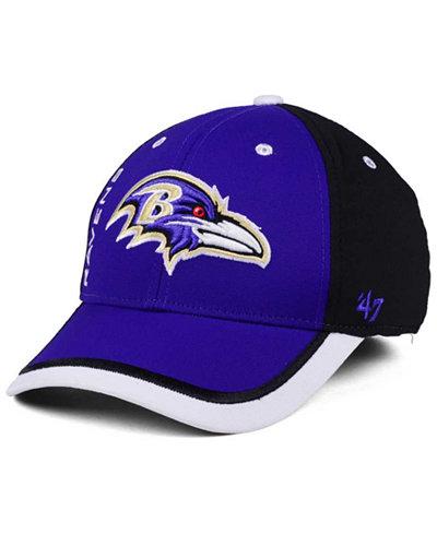 '47 Brand Baltimore Ravens Crash Line Contender Flex Cap
