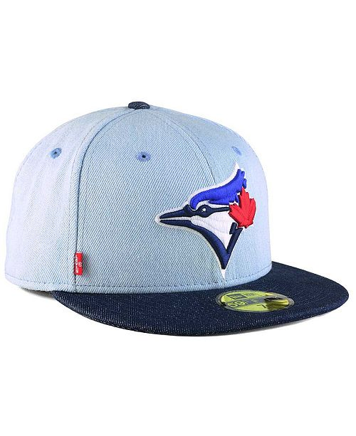 competitive price bdc05 a1b00 ... New Era Toronto Blue Jays X Levi 59FIFTY Fitted Cap ...