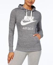 e229f78fbaf7 Nike Sportswear Gym Vintage Zip Hoodie   Reviews - Tops - Women - Macy s