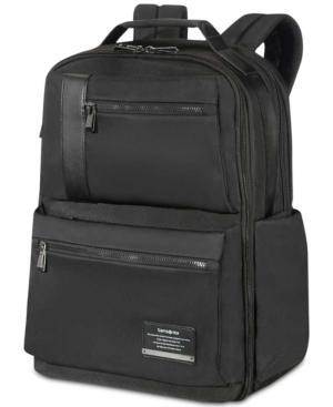 """Samsonite Open Road 17.3"""" Weekender Backpack In Jet Black"""