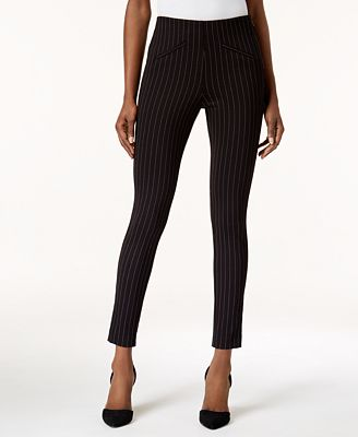 Anne Klein Pinstriped Skinny Pants