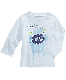 First Impressions Loud-Print Cotton T-Shirt, Baby Boys, Created for Macy's