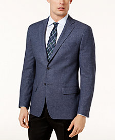 Calvin Klein Men's Slim-Fit Blue Sport Coat