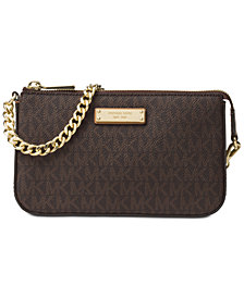 MICHAEL Michael Kors Signature Chain Clutch