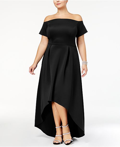05af62e8b1c Monif C. Plus Size High-Low Dress   Reviews - Dresses - Plus Sizes ...