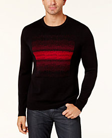 Alfani Men's Ombré Chenille Sweater, Created for Macy's