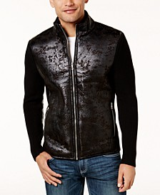 INC Men's Textured Sweater Jacket, Created for Macy's