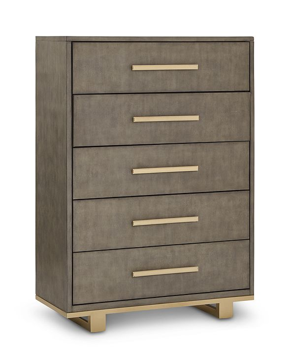 Furniture Petra 5 Drawer Chest