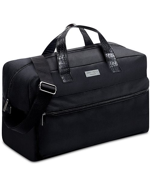 c92ce879ff Jimmy Choo Receive a Complimentary Duffel Bag with any large spray purchase  from the Jimmy Choo