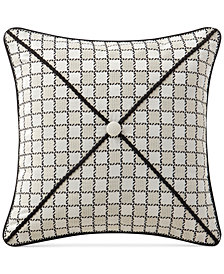 """Waterford Vienna 16"""" Square Decorative Pillow"""