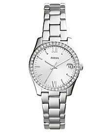 Fossil Women's Scarlette Stainless Steel Bracelet Watch 32mm