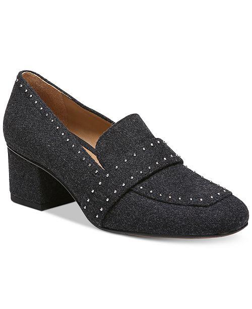 0946dfb18b20 Franco Sarto Lance Block-Heel Pumps   Reviews - Pumps - Shoes ...