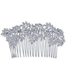 I.N.C. Silver-Tone Pavé Vine Hair Comb, Created for Macy's