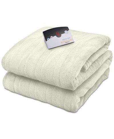 Biddeford Microplush Heated Full Blanket