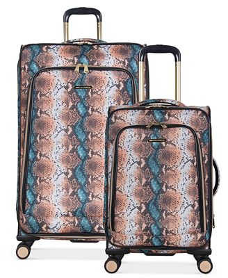 CLOSEOUT! Aimee Kestenberg Bali Softside Expandable Spinner Luggage Collection
