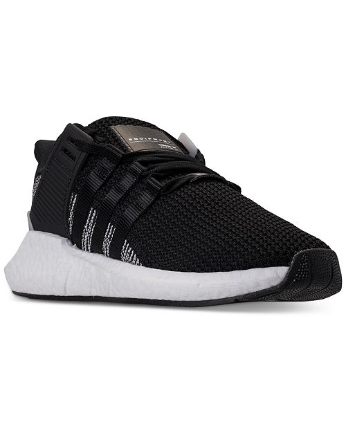 hot sale online 31524 c6009 ... adidas Men s EQT BOOST Support 93 17 Casual Sneakers from Finish ...