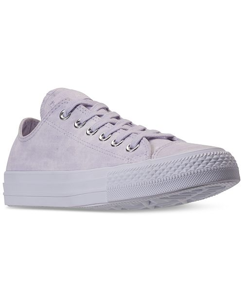 fa634d47af3d ... Converse Women s Chuck Taylor Ox Casual Sneakers from Finish ...