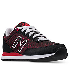 New Balance Women's 501 Ripple Textile Casual Sneakers from Finish Line