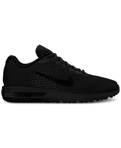 on sale f3c89 2d48f Nike Men's Air Max Sequent 2 Running Sneakers from Finish Line ...