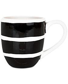 Coton Colors Black Plank Mug