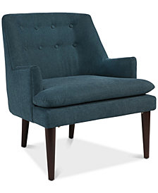 Boris Accent Chair, Quick Ship
