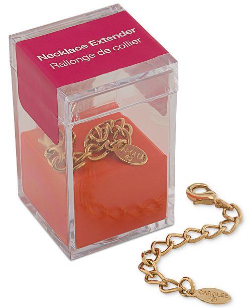 Carolee Gold-Tone Necklace Extender