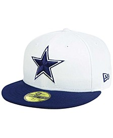 Dallas Cowboys Two Tone 59FIFTY Fitted Cap