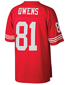 Mitchell & Ness Men's Terrell Owens San Francisco 49ers Replica Throwback Jersey