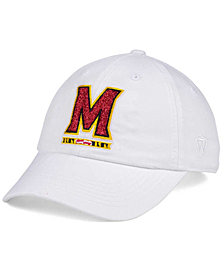 Top of the World Women's Maryland Terrapins White Glimmer Cap