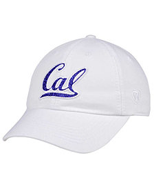 Top of the World Women's California Golden Bears White Glimmer Cap