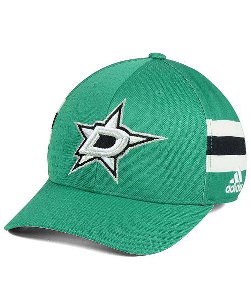 adidas Dallas Stars 2017 Draft Structured Flex Cap