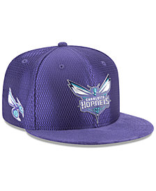New Era Charlotte Hornets On Court Reverse 9FIFTY Snapback Cap