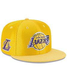 New Era Los Angeles Lakers On Court Reverse 9FIFTY Snapback Cap