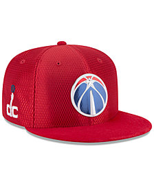 New Era Washington Wizards On Court Reverse 9FIFTY Snapback Cap