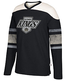 Men's Los Angeles Kings Appliqué Crew Long Sleeve T-Shirt