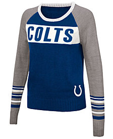 Touch By Alyssa Milano Women's Indianapolis Colts Team Spirit Sweater