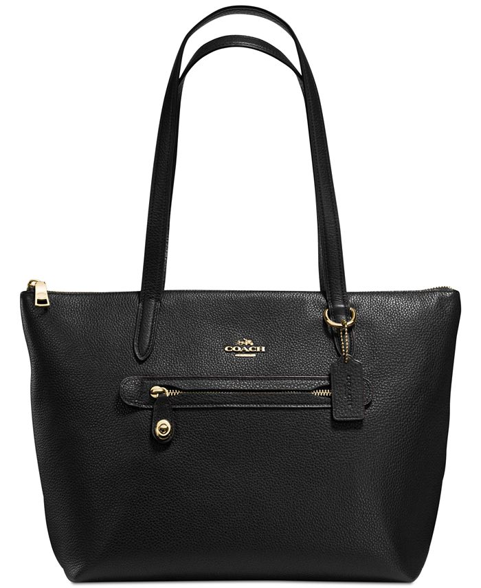 COACH - Taylor Tote in Pebble Leather