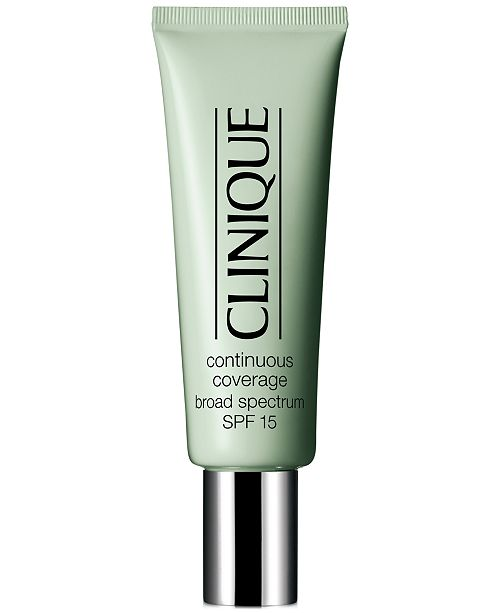 Clinique Continuous Coverage Foundation And Concealer Spf 15 1 2 Oz Reviews Foundation Beauty Macy S