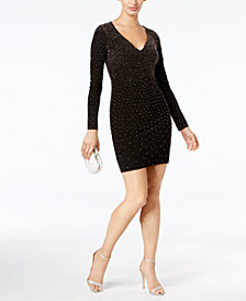 Xscape Beaded Bodycon Dress