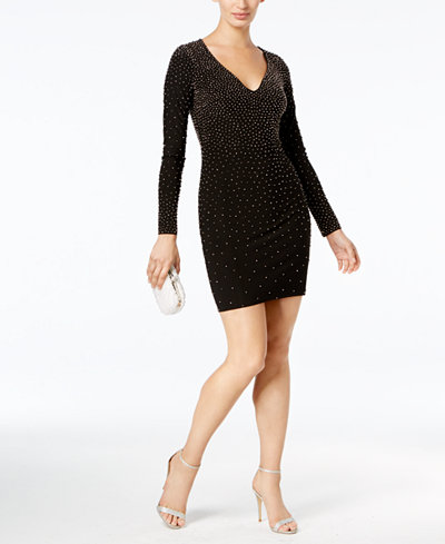 Xscape Beaded Bodycon Dress